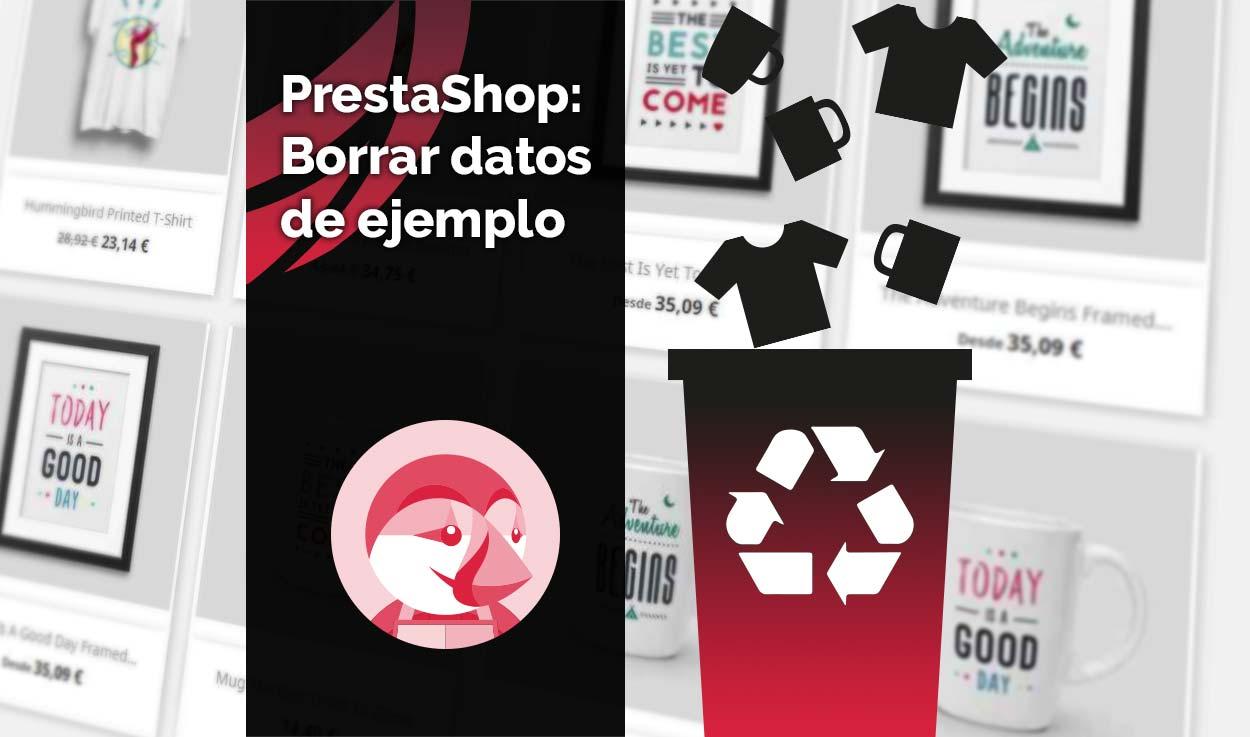 PrestaShop: Borrar datos de ejemplo
