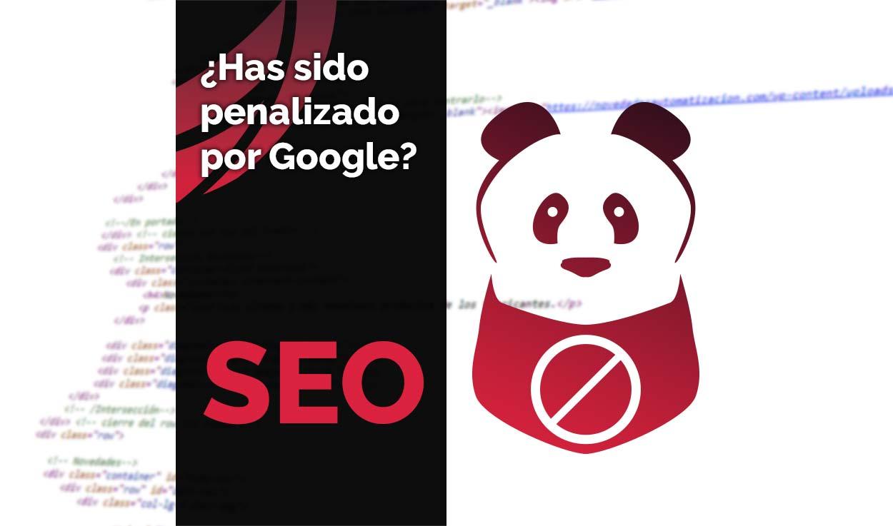 Cómo saber si Google me ha penalizado