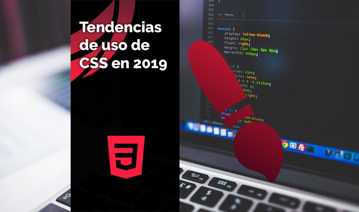 Tendencias de uso de CSS en 2019