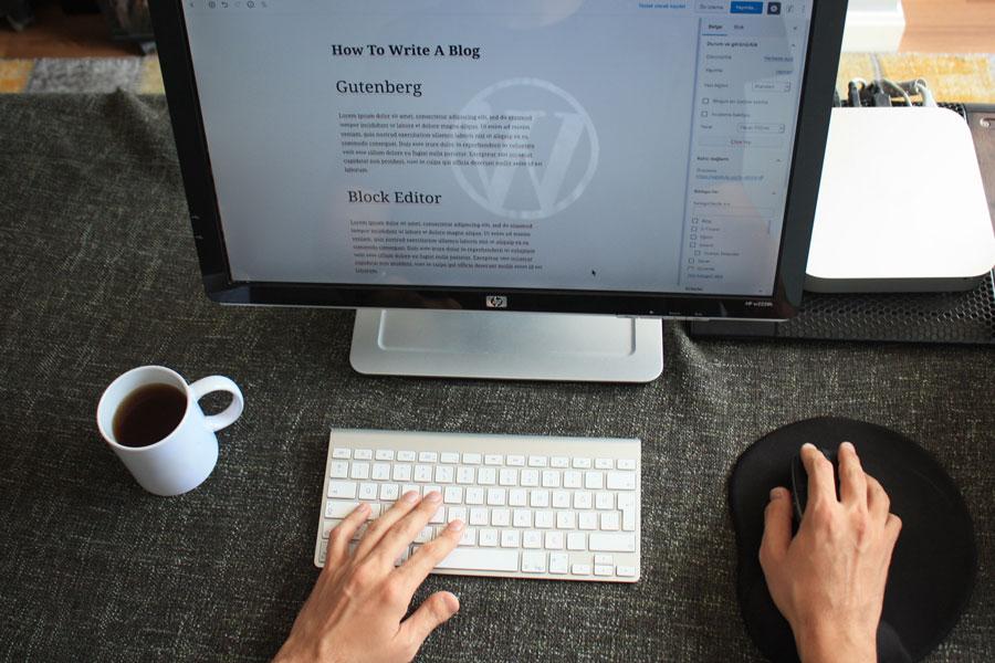 Editor Gutenberg en WordPress 5.4.