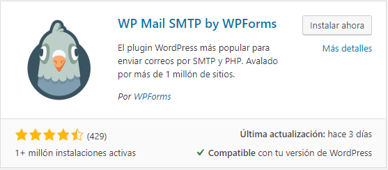 envio emails con wp mail smtp