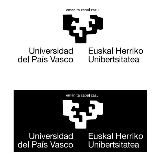 Logotipo y su versión en negativo