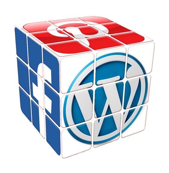 Botones para redes sociales de WordPress 5.4