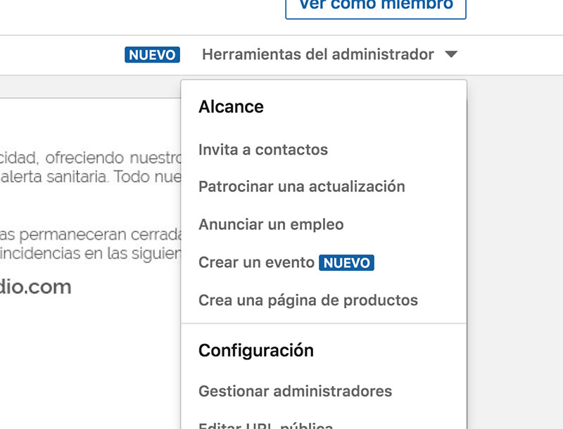 Añade contactos en LinkedIn
