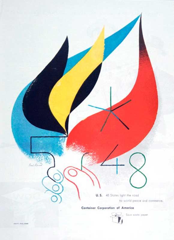 Diseñadores ilustres. Paul Rand.