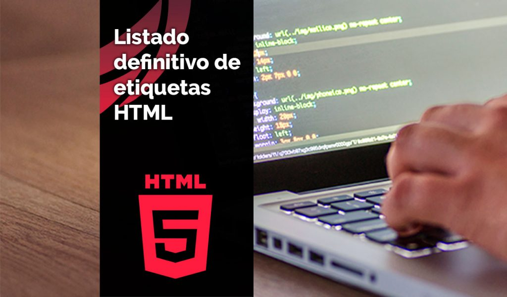 Listado etiquetas HTML