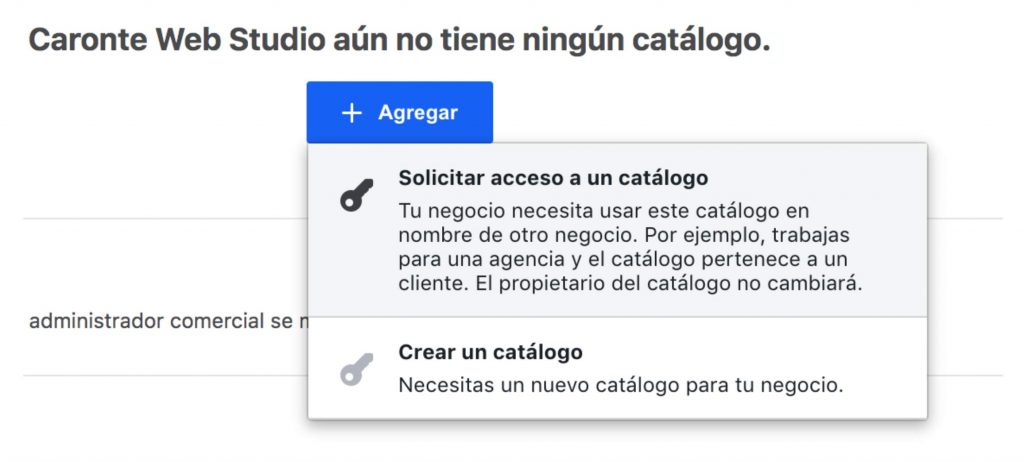 Como vender en Instagram: Crear un catálogo en Facebook Business Manager