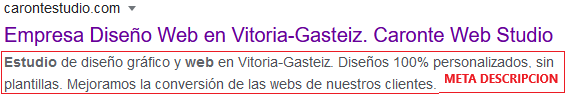 Optimizar metadescripcion