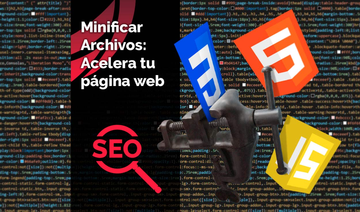 Minificar CSS, JS, HTML… Acelera tu página web