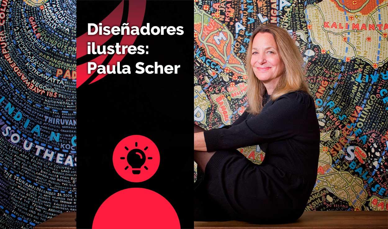 Diseñadores ilustres: Paula Scher