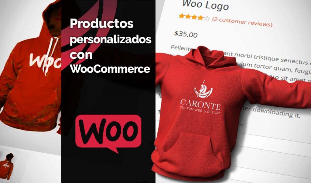 Productos personalizados en WooCommerce