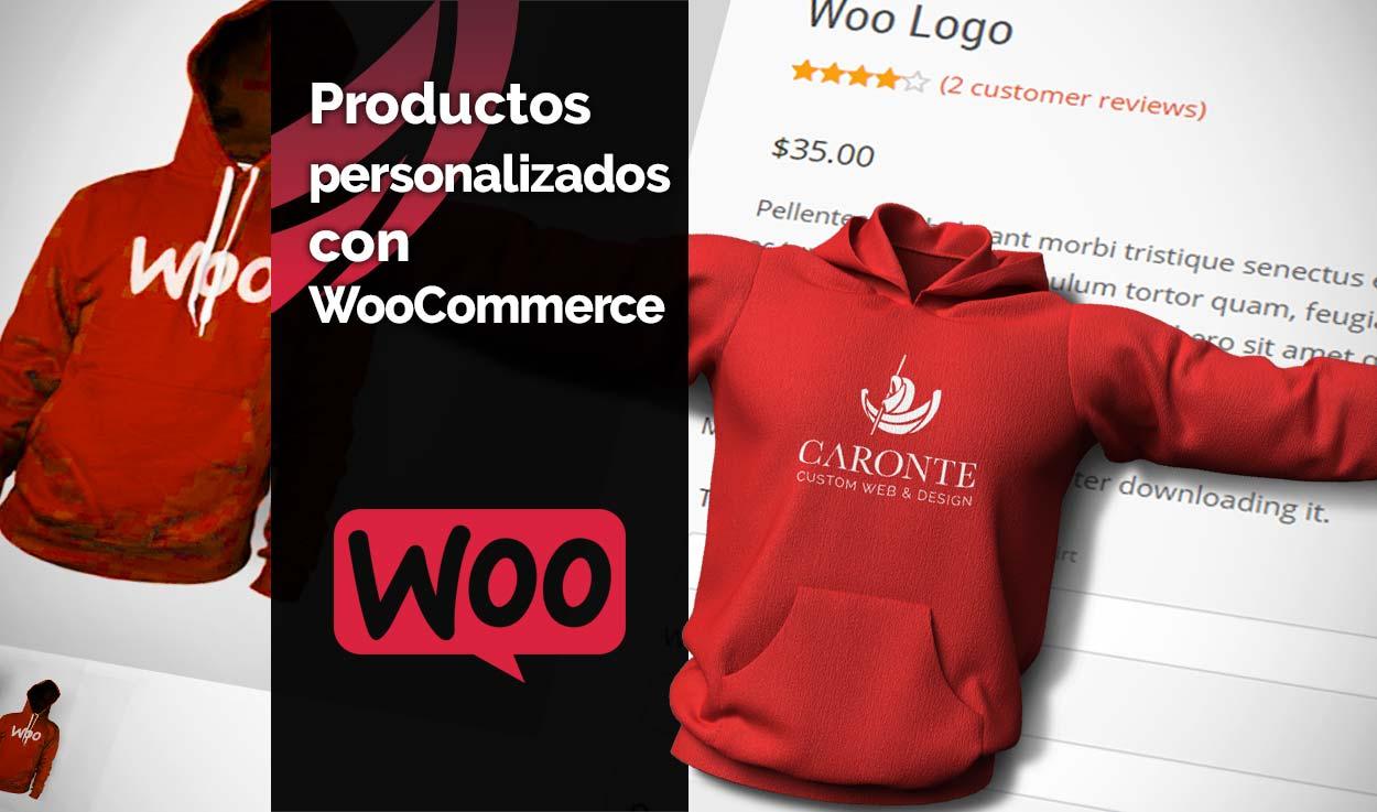 Productos personalizados con WooCommerce