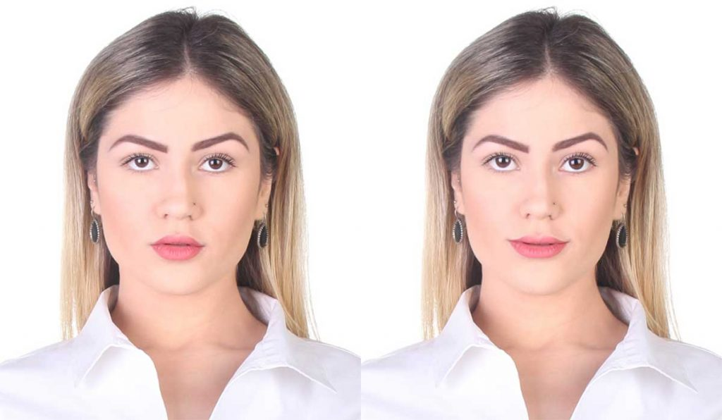 Cambiar expresión con la herramienta Cara de Photoshop