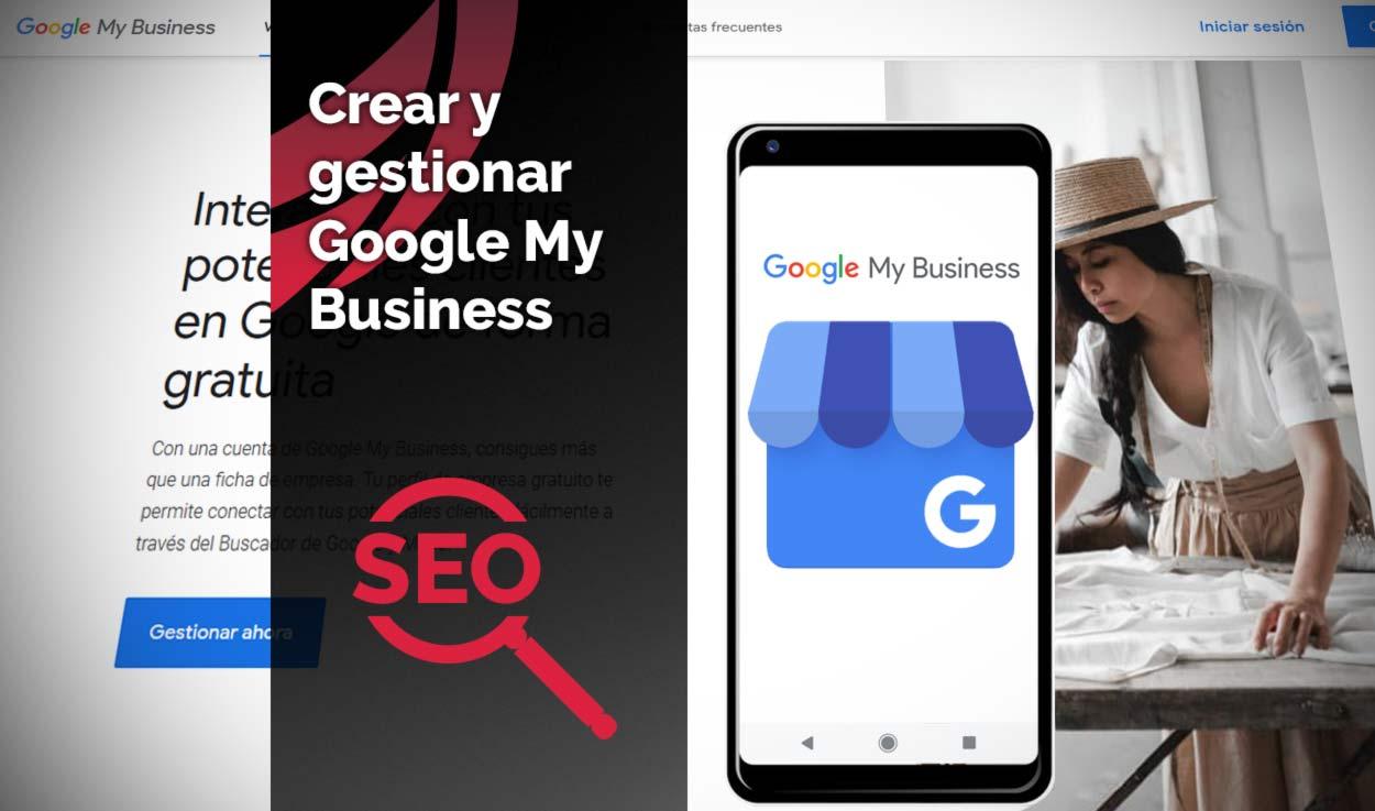 Crear y gestionar una ficha de Google My Business
