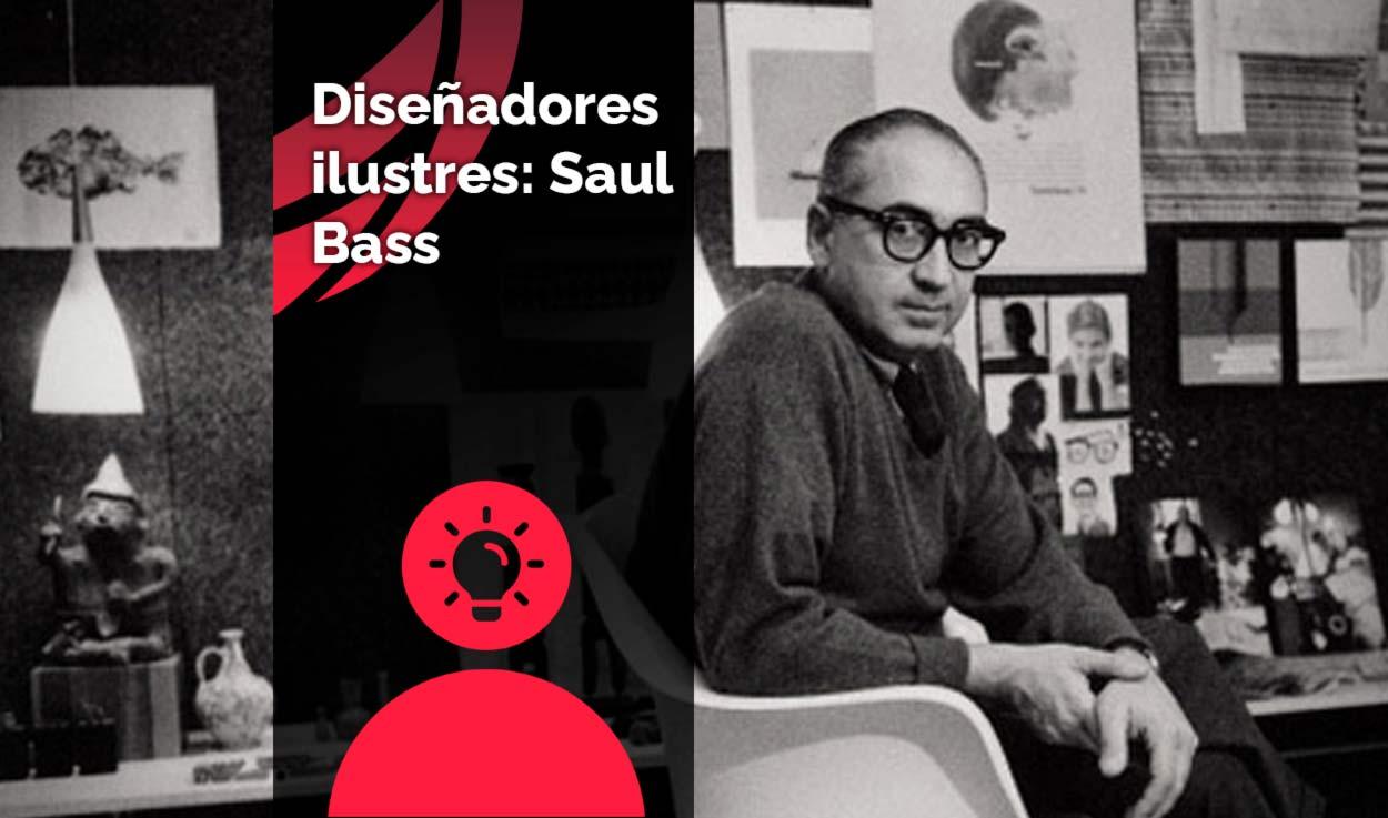 Diseñadores ilustres: Saul Bass