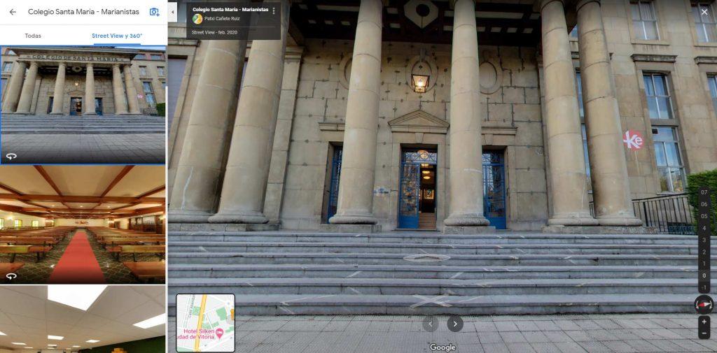 Ejemplo de Tour Virtual Maps