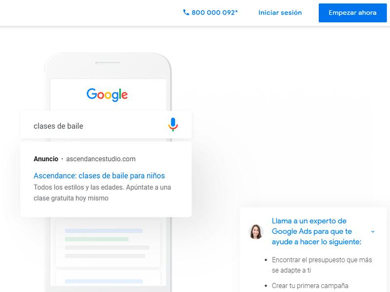 Creando nuestra cuenta de Google Ads.