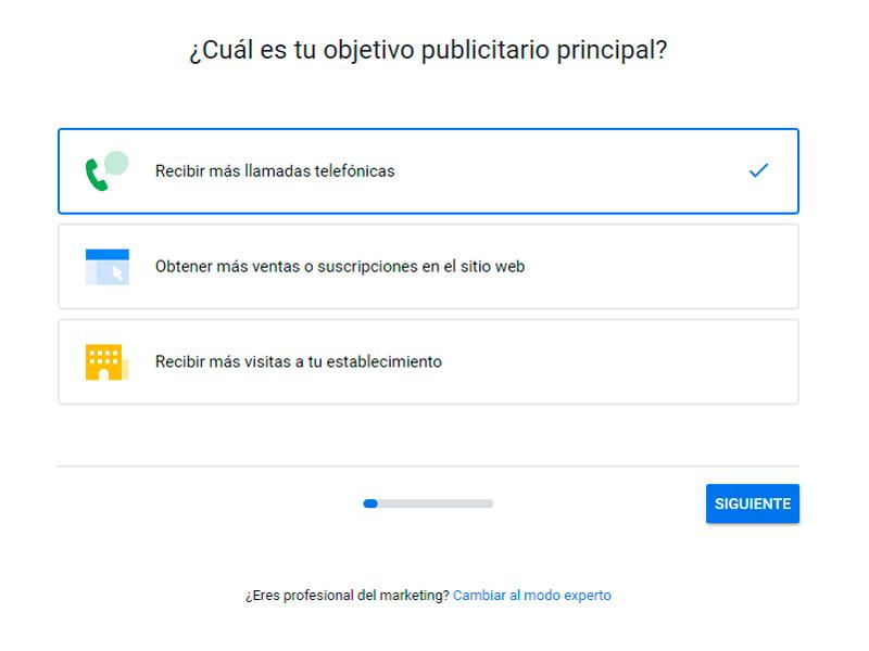 Cómo crear una cuenta en Google Ads y definir sus objetivos.
