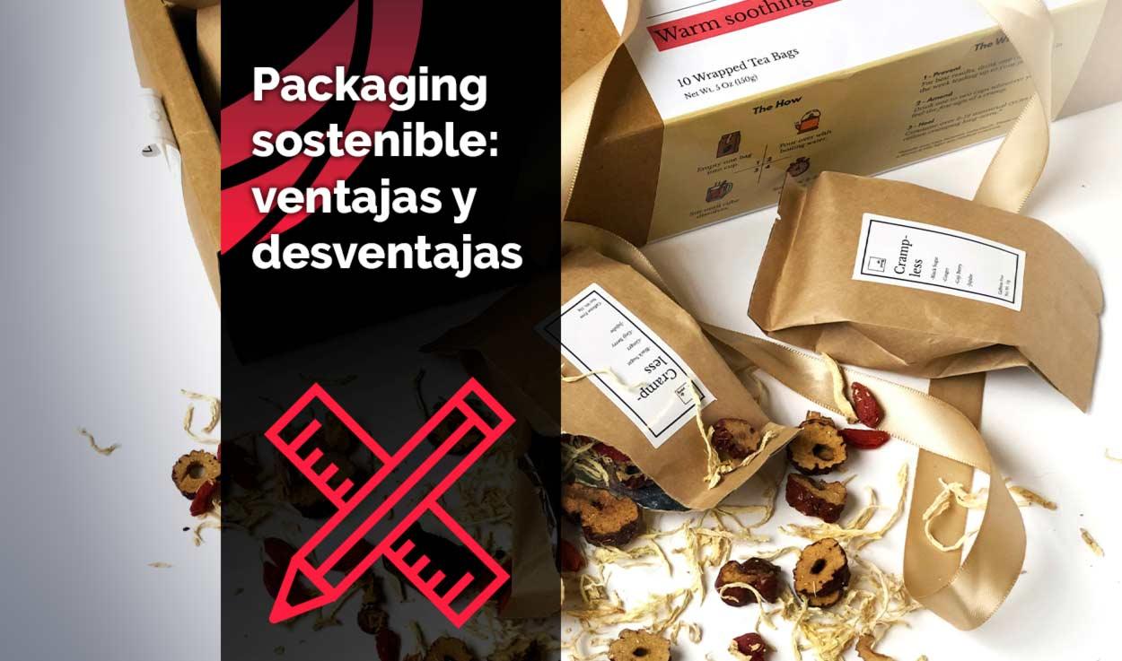 Packaging sostenible: ventajas y desventajas