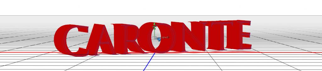 Texto en 3D - Modificar texto en Photoshop