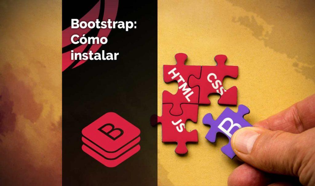 Cómo instalar bootstrap