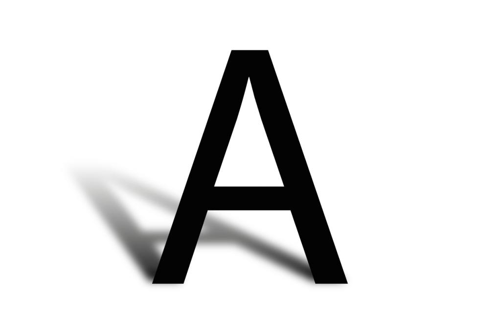 Cómo hacerle sombra a las letras en Illustrator