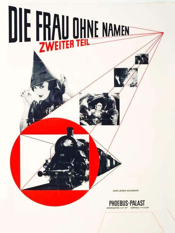 Poster de película de Jan Tschichold