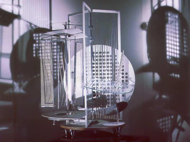 Modulador de luz de László Moholy-Nagy
