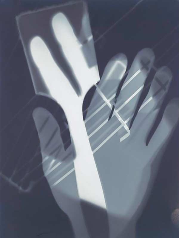 Fotograma de László Moholy-Nagy. Fotografía y pintura.