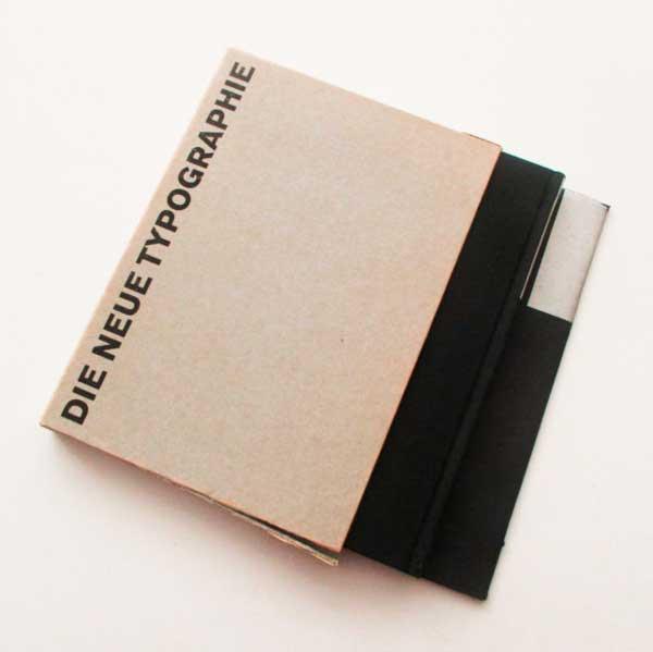 Neue Typography. Libro de Jan Tschichold