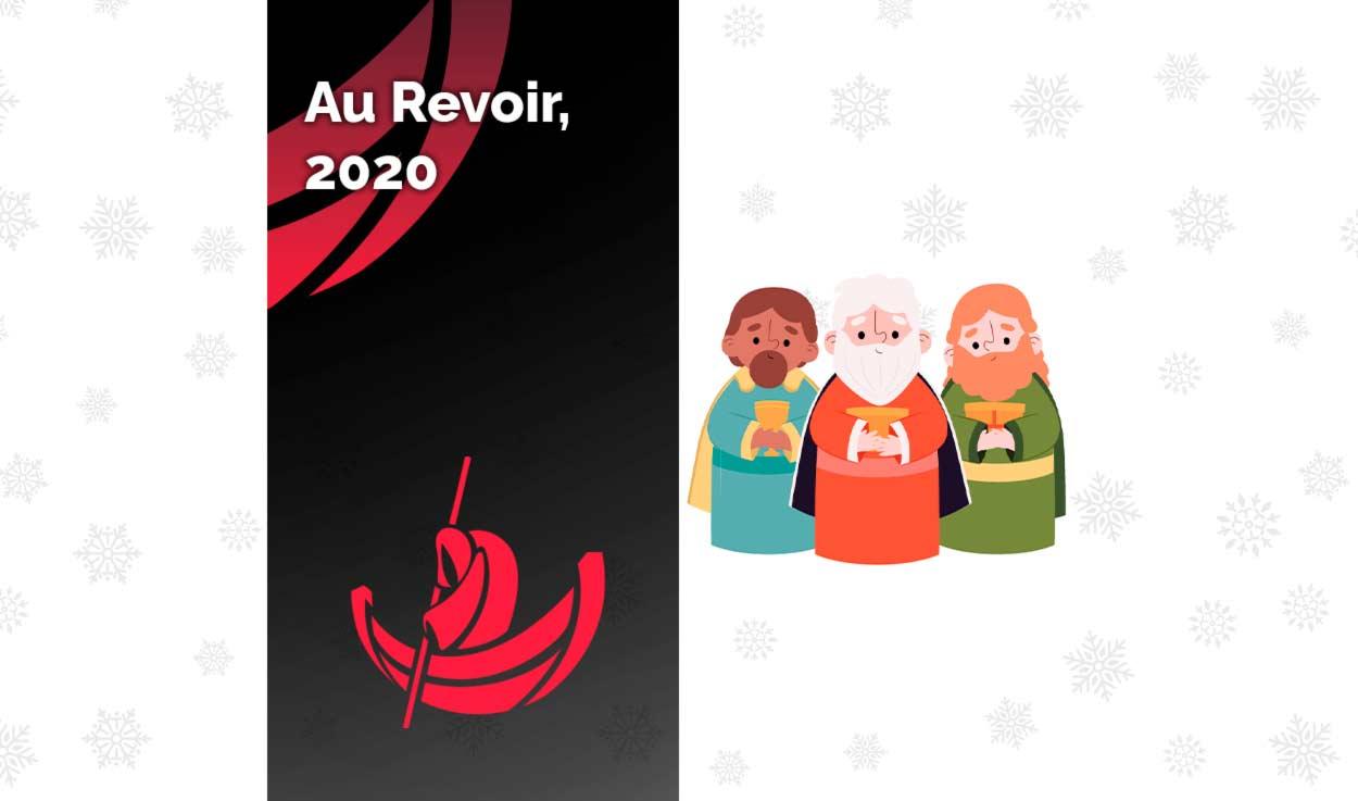 Au Revoir, 2020.