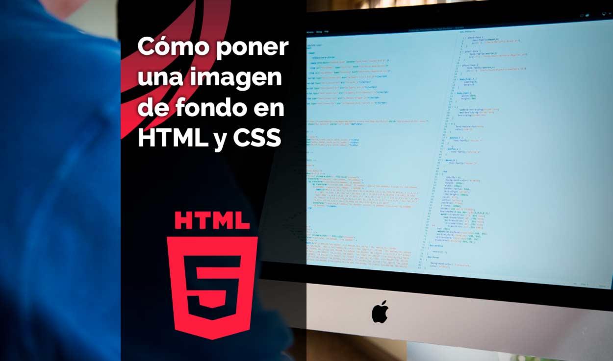 Cómo poner una imagen de fondo en HTML