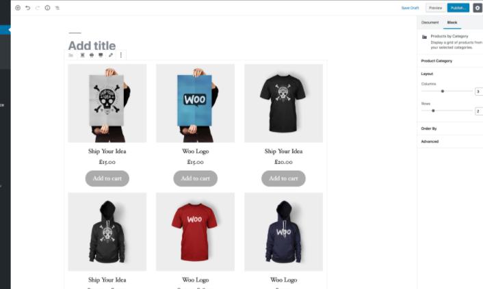 Shortcode para añadir listado de productos en tu ecommerce