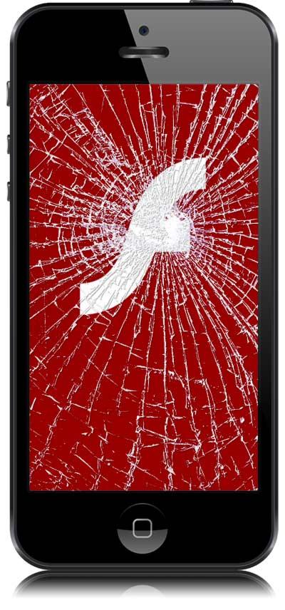 iPhone no soporta Flash