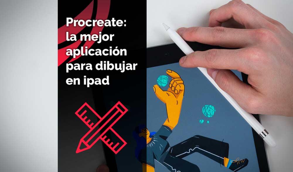 App Procreate: la mejor para dibujar en ipad