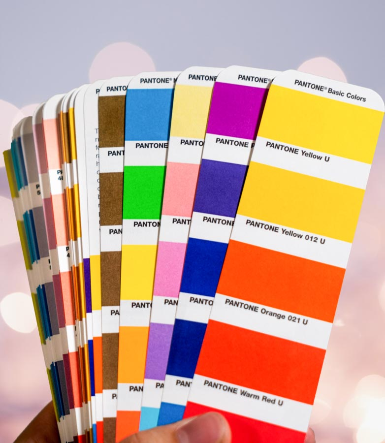 Cómo usar colores PANTONE