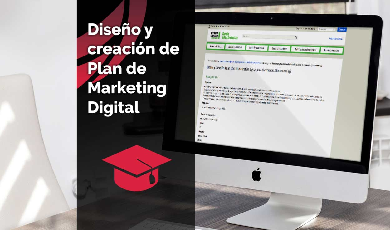 Curso de diseño y creación de un plan de marketing digital