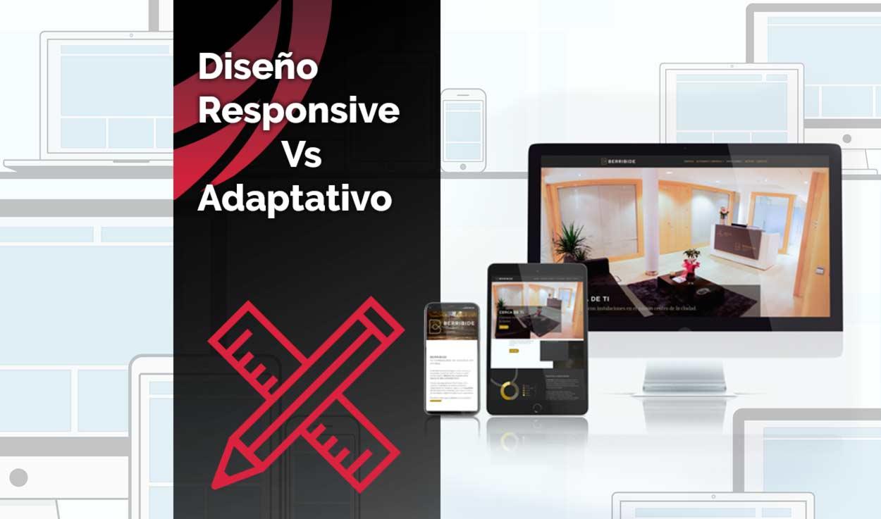 Diseño Responsive Vs Adaptativo
