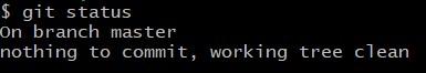 Git Básico, comando git status