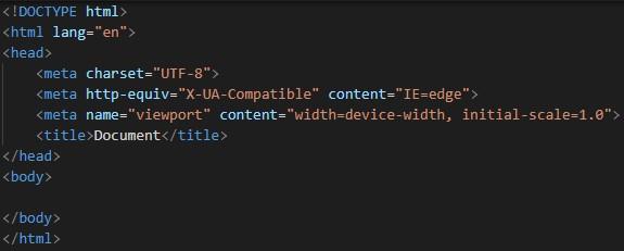 Atajos de teclado con Visual Studio Code para programar en HTML