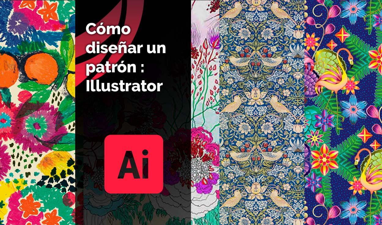 Cómo diseñar un patrón: Illustrator