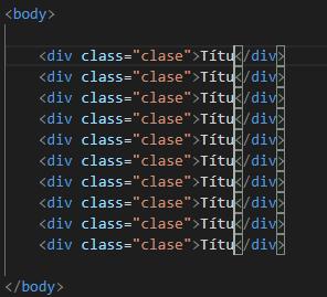 Atajos VS Code