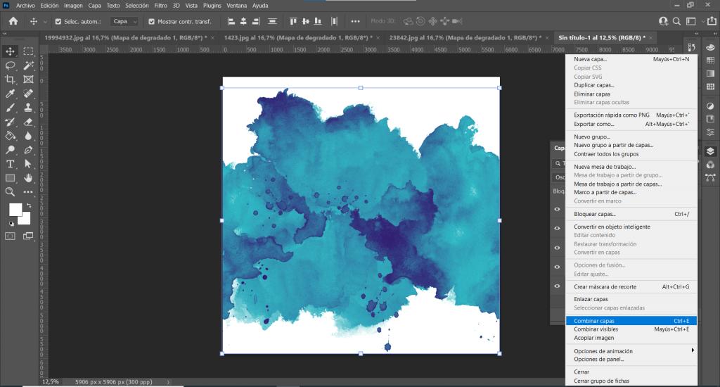 diseño de patterns en Photoshop