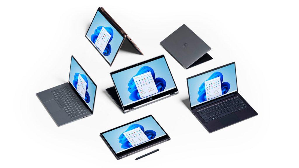 Windows optimizado para dispositivos táctiles