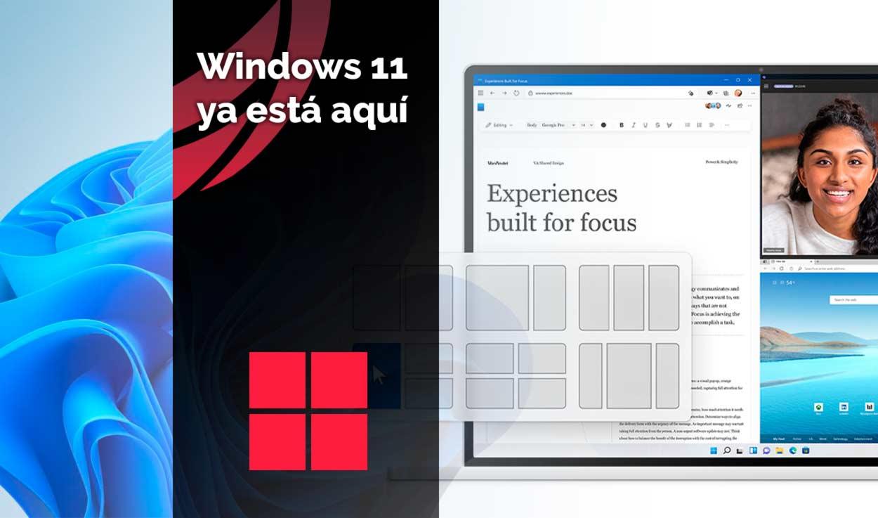 Windows 11 ya está aquí