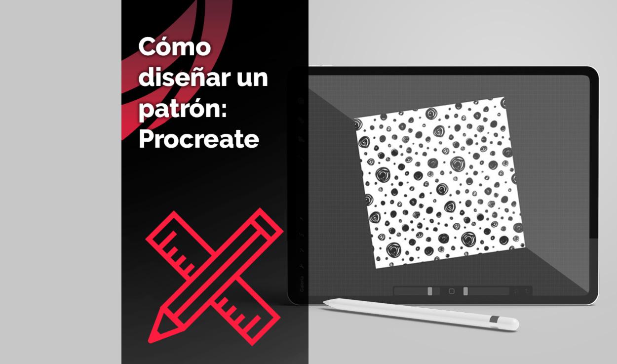 Cómo diseñar un patrón: Procreate