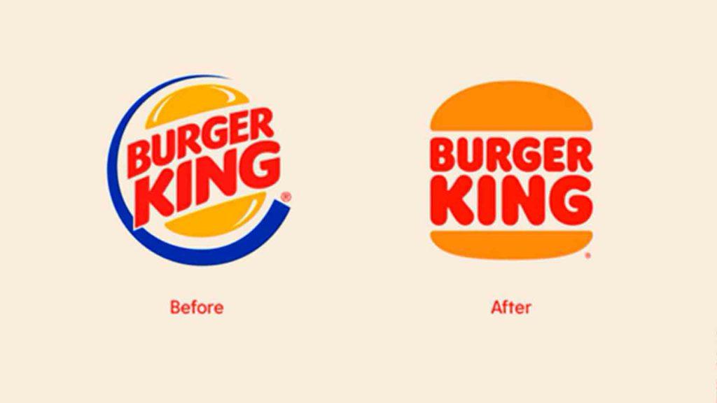 Cuando es necesario un rebranding Burger King