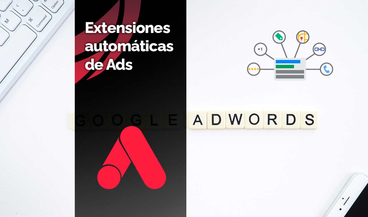 Extensiones automáticas de Google Ads