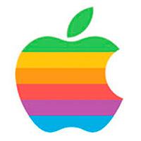 Logotipo de Apple 1977 - Rob Janoff