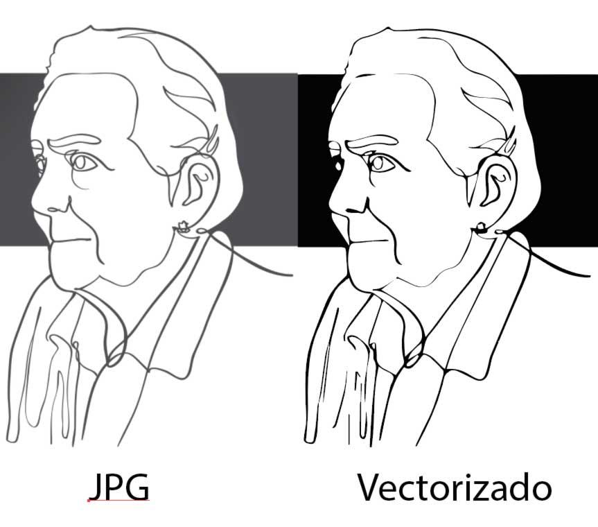 Vectorizar un dibujo a tinta - Illustrator